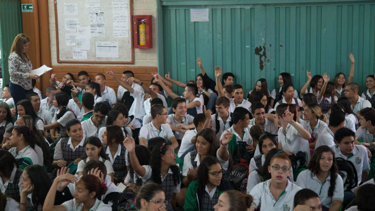 Estudiantes bachilleres