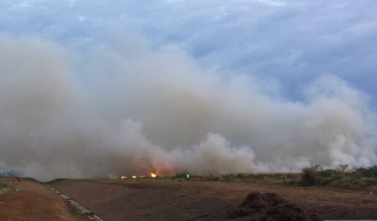Incendios forestales en el Valle del Cauca.
