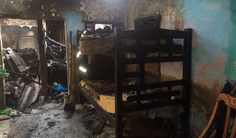Familia perdió todas sus pertenencias por incendio en Cartagena