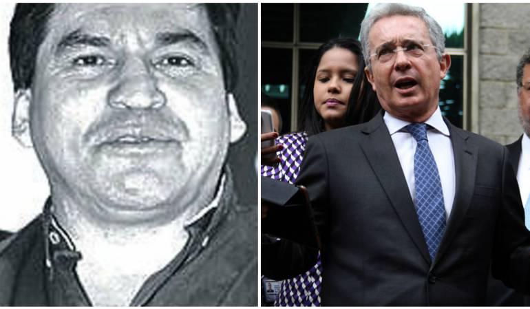 Jesús María Valle y expresidente Uribe.