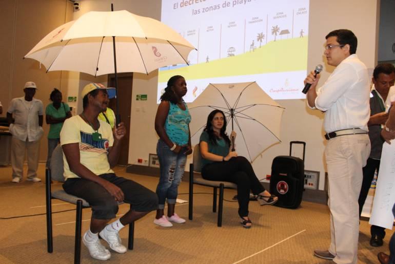 Socializan modelo de ordenamiento de las playas de Cartagena