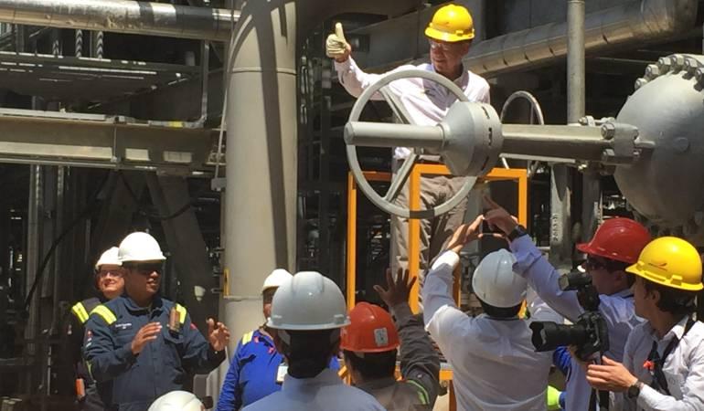 Refinería de Cartagena garantizará abastecimiento de combustibles limpios