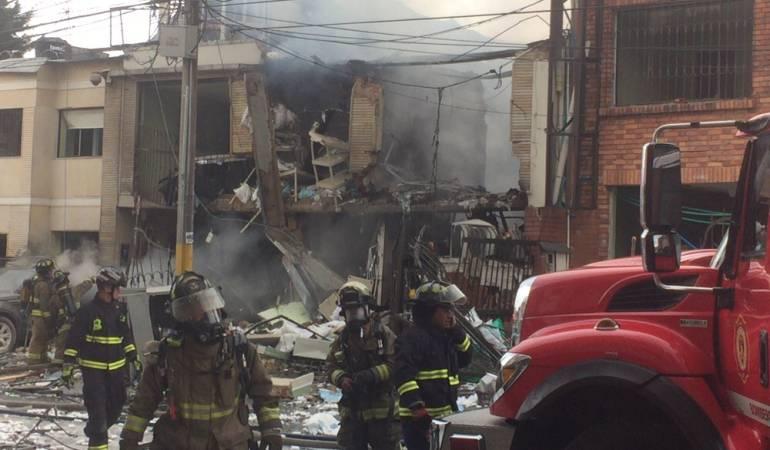 Explosión en empresa farmacéutica deja 27 personas heridas