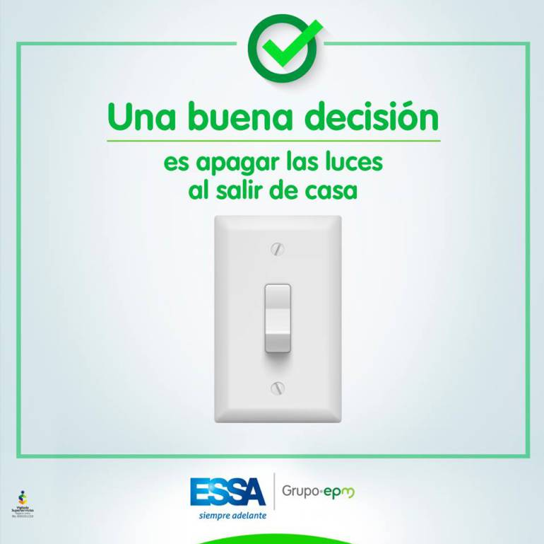 Reajuste de tarifas de energía para Santander será de 1,5% mensual