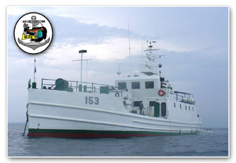 Hundirán buque de la Armada en Cartagena para generar arrecifes