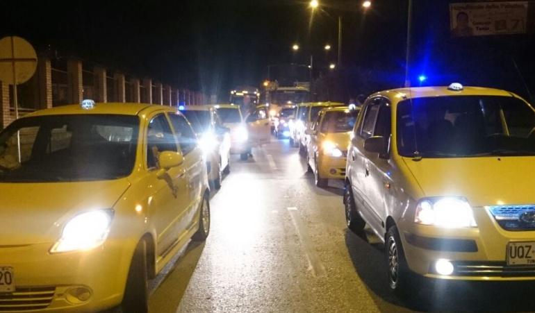 Líderes taxistas en Tunja no están de acuerdo con Uber
