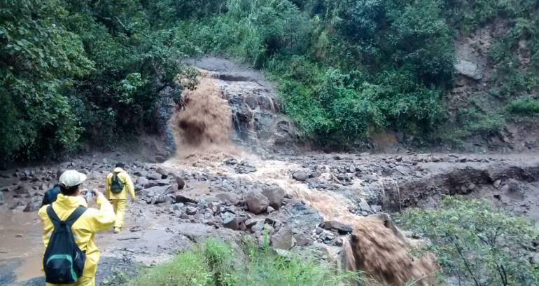 Lluvias torrenciales vuelven a dejar incomunicado a Boyacá con Casanare: Lluvias torrenciales vuelven a dejar incomunicado a Boyacá con Casanare