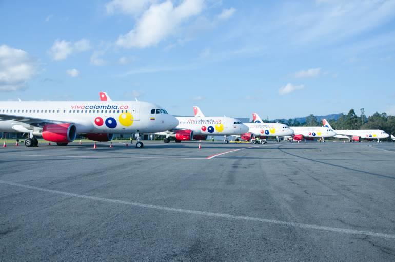 VivaColombia ha transportado 2,2 millones de pasajeros en 2015