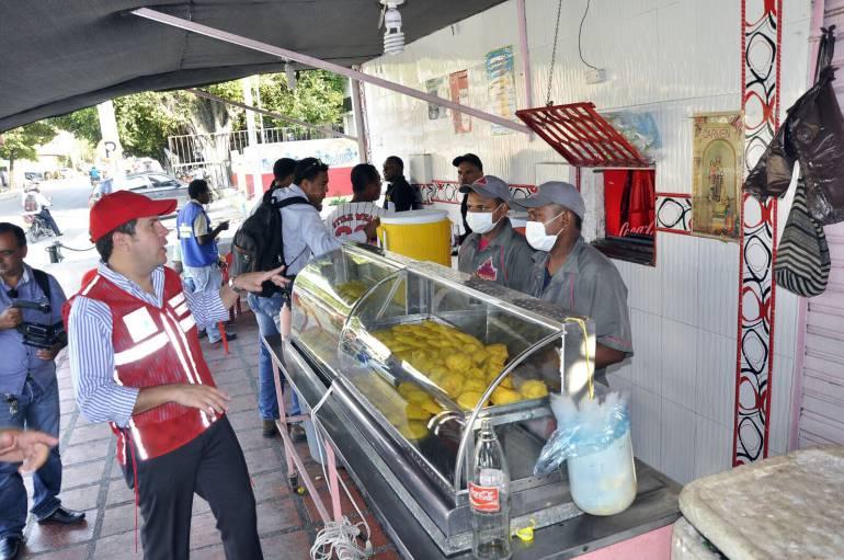 Otros tres locales de comidas fueron cerrados en Cartagena
