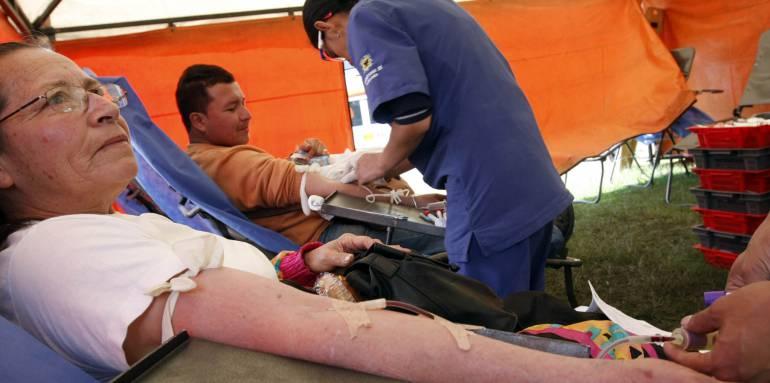 Jornada distrital de donación de sangre: Este fin de semana se realiza la XIV jornada distrital de donación de sangre
