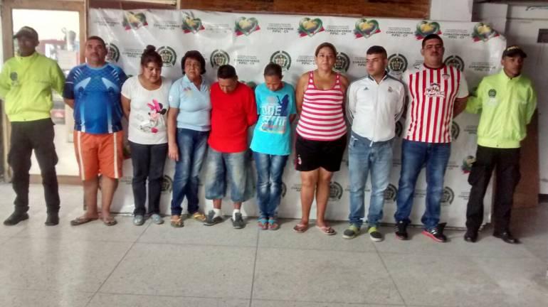 """Los integrantes de la banda de """"Los Guacas"""""""