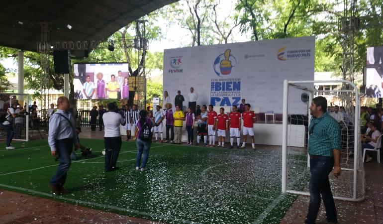 El fútbol es el vehículo de la paz y la convivencia: 'Pibe' Valderrama