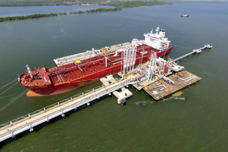 Puerto Bahía ha exportado 640 mil barriles de crudo y 500 toneladas de carga general