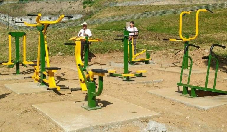 Caldas cuenta con 49 parques biosaludables