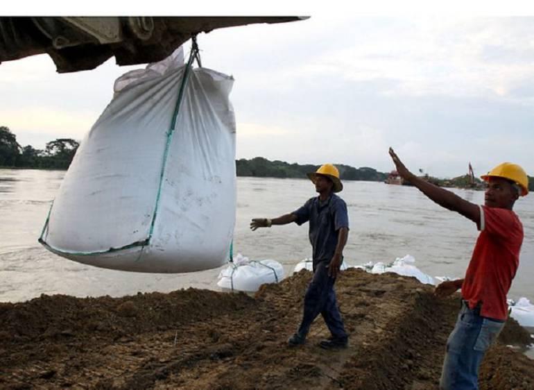 Advierten un atraso en obras de recuperación del Canal del Dique