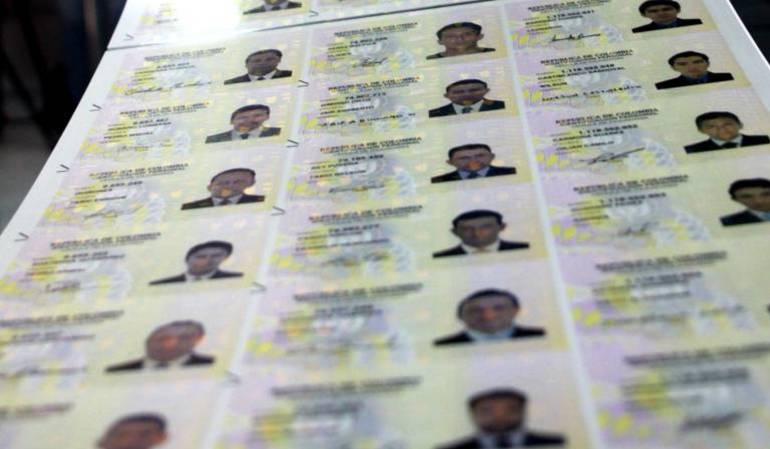 Registraduria realiza jornada especial de entrega de documentos en todo el país.