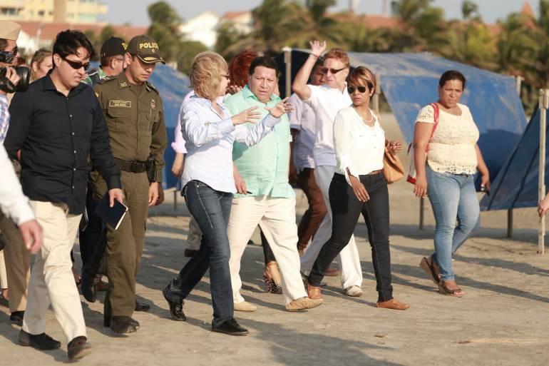 Cartagena tendrá el modelo de las playas más organizadas de toda Colombia: Alcalde