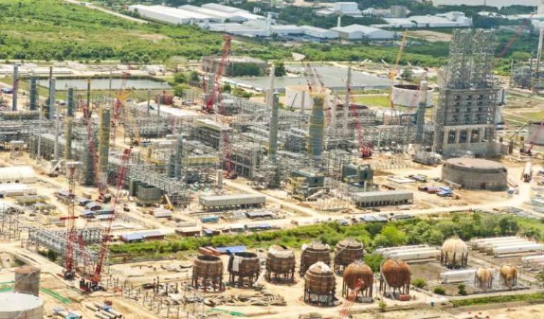 En USD 4.023 millones se incrementaron costos de ejecución de la Refinería de Cartagena