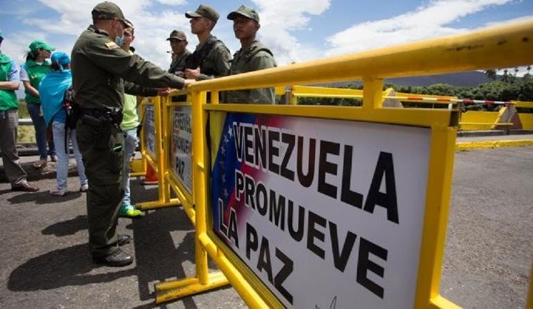 Cúcuta Venezuela Frontera Captura Muerte Colombianos Paramilitarismo: 52 colombianos han sido capturados en Venezuela durante el cierre de frontera