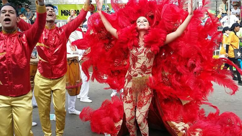 Reina central del Carnaval de Barranquilla, Marcela García