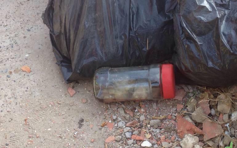 Conmoción por feto hallado en un frasco en Cartagena