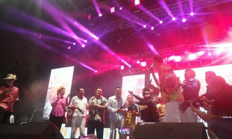 Homenaje al vallenato en el Festival de Orquestas