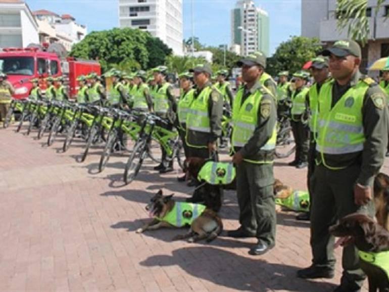 Cartagena contará con 100 nuevos agentes de la policía