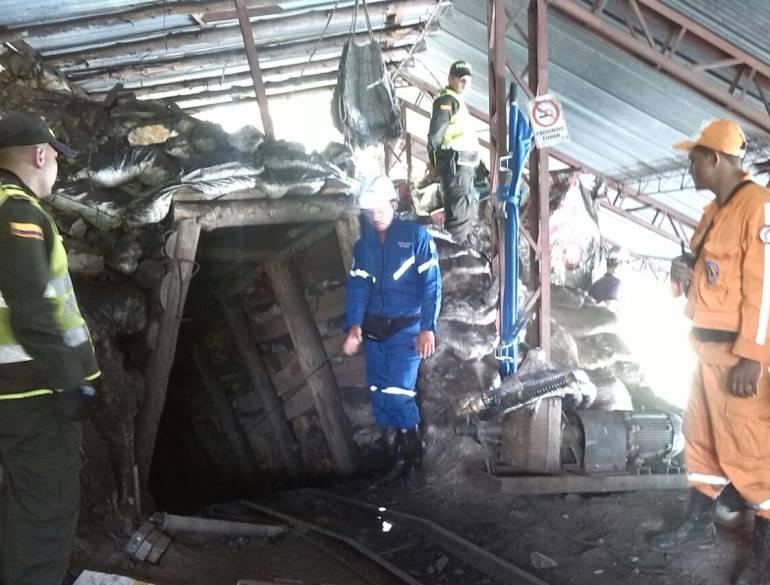 Investigan la muerte de dos mineros en un socavón de Motavita, Boyacá: Dos muertos en una mina de carbón de Motavita, Boyacá