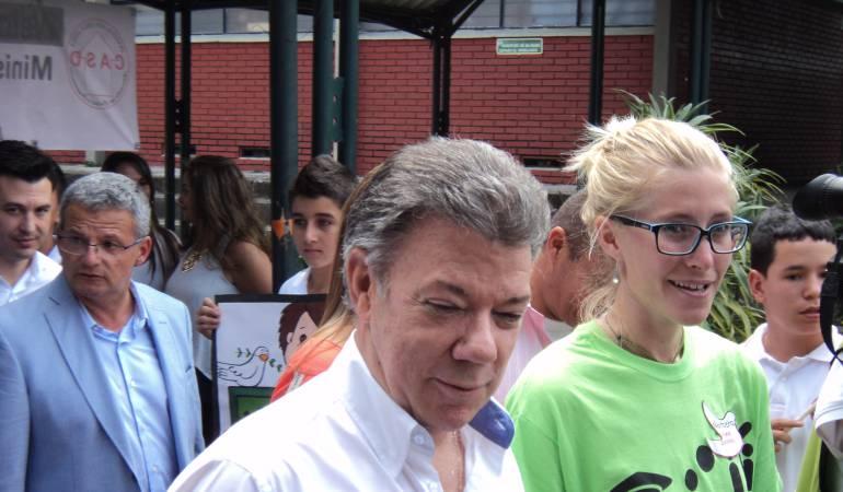 Dijo el Presidente Juan Manuel Santos que ese ausentismo de algunos congresistas no demuestra que le quitaron el apoyo al proyecto.
