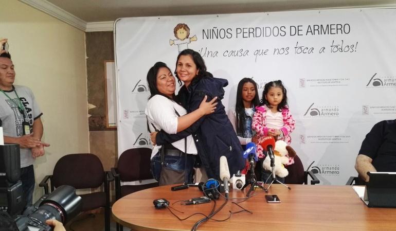 Armero: Luego de 30 años se reencuentran hermanas separadas por la tragedia: Luego de 30 años se reencuentran hermanas separadas por la tragedia de Armero