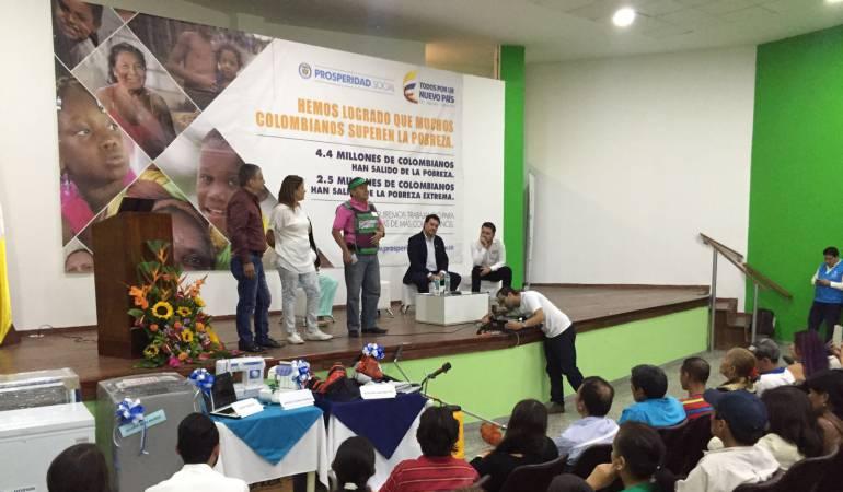 80 Personas en condición de vulnerabilidad y víctimas recibieron los incentivos
