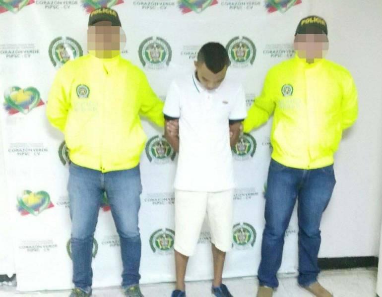 Autoridades dieron captura a presunto expendedor de sustancias psicoactivas