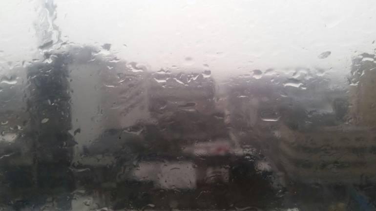Las lluvias volvieron con intensidad a Bucaramanga