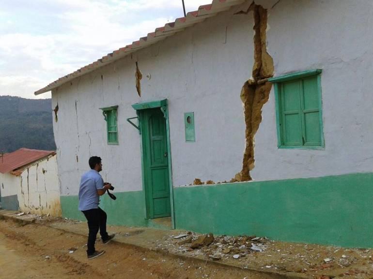 Un año después del sismo se ha reconstruido el 30% de casas afectadas