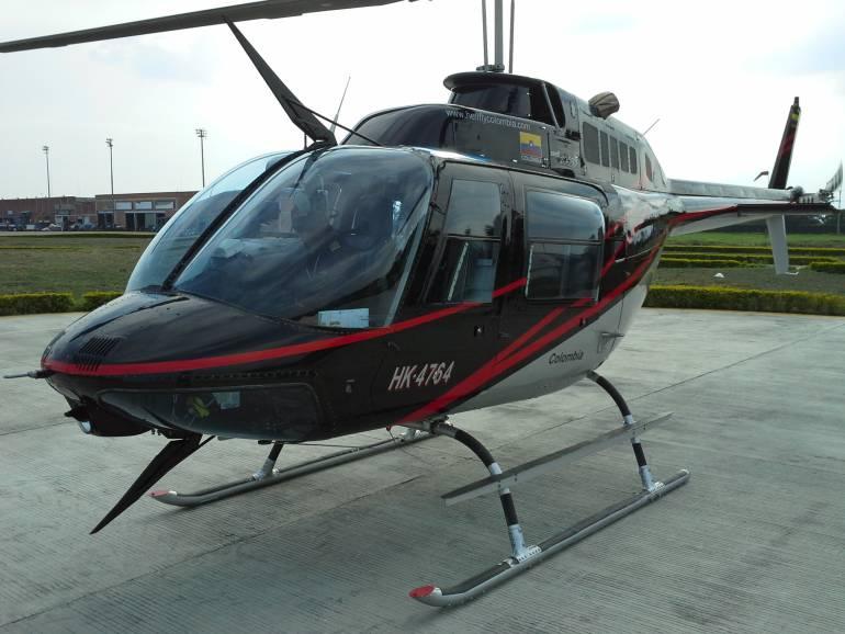 Esta fue la aeronave que se accidentó en Santa Rosa de Osos.