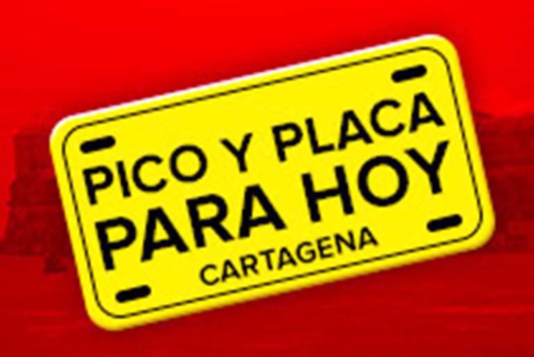 Pico y placa para hoy en Cartagena: El pico y placa en Cartagena