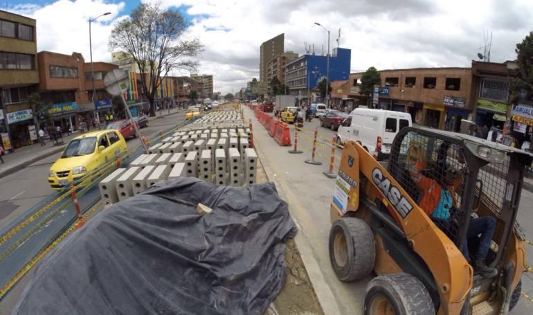 Distrito anuncia mantenimiento a la calle 19 en el centro de Bogotá