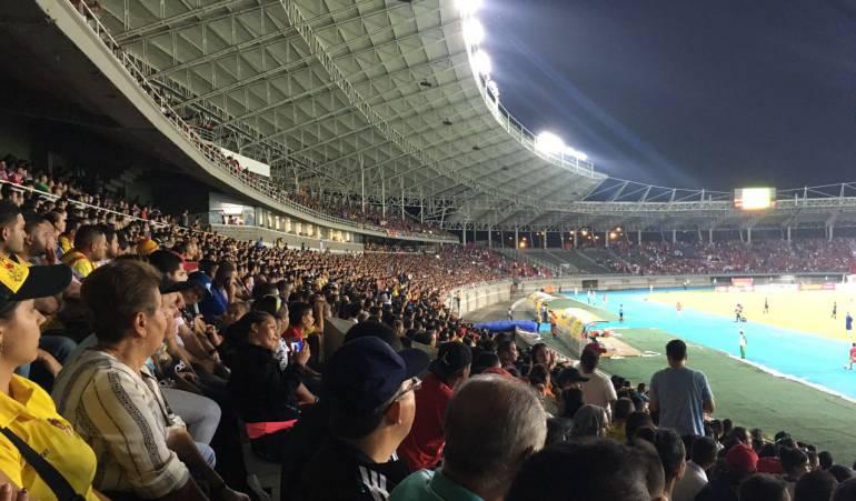 Deportivo Pereira ganó: Con un estadio lleno de hinchas respaldándolo, ganó el Depor