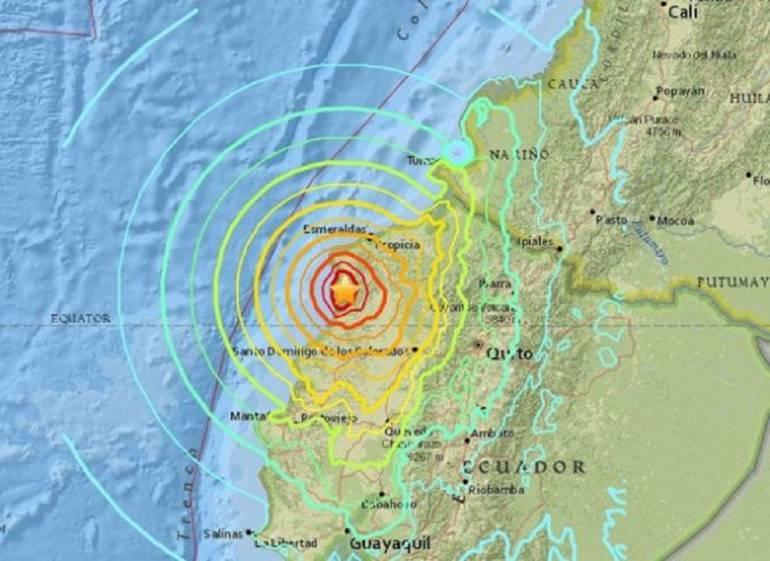 Nuevo temblor con epicentro en Ecuador, se sintió en Pasto ...