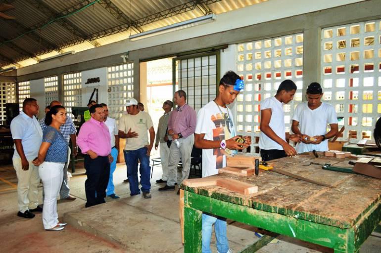 Alcaldía ofrece apoyo a jóvenes que reciben formación en la Escuela Taller de Cartagena: Alcaldía ofrece apoyo a jóvenes que reciben formación en la Escuela Taller de Cartagena