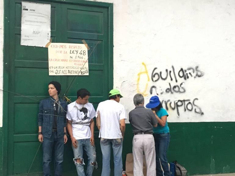 Alertan sobre supuesta demolición de la casa de Custodio García Rovira