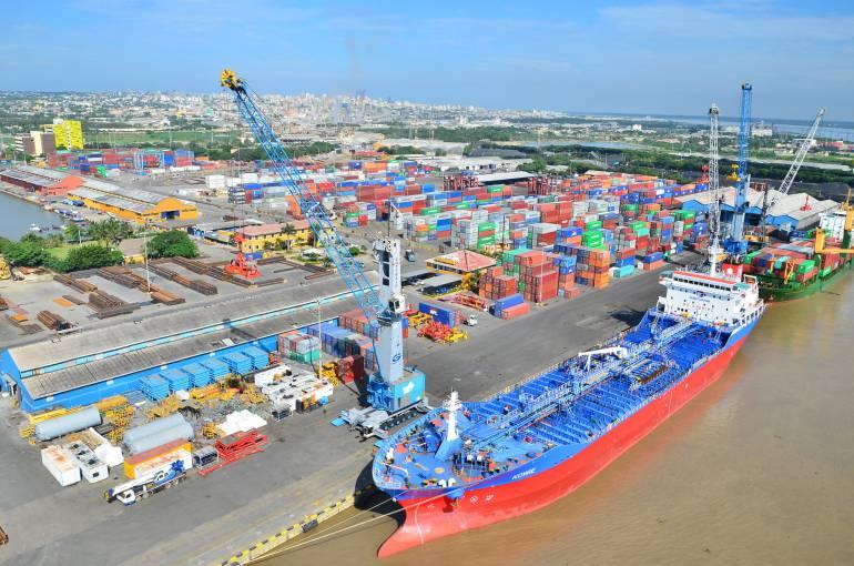 Resultado de imagen para puerto de barranquilla