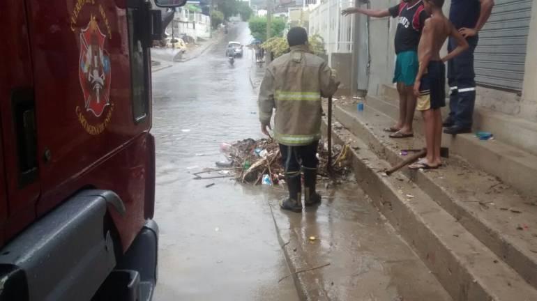Autoridades entregan recomendaciones para la temporada invernal en Cartagena