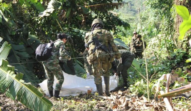 Dos militares muertos y uno herido dejan acciones violentas en Norte de Santander