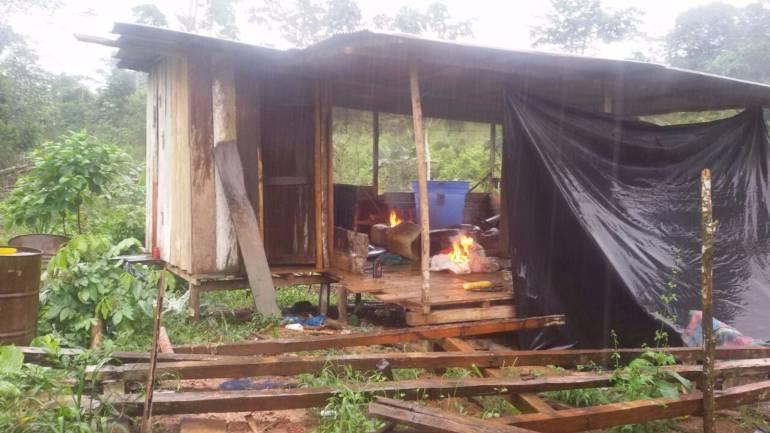 Laboratorio de las bandas criminales destruido en Valdivia