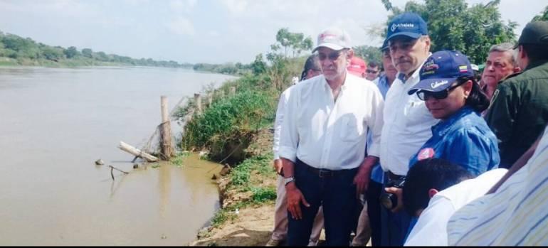 Comunidad y Fondo de Adaptación coinciden en obras para Santa Lucía