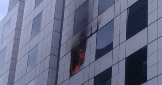 Incendio embajada venezolana en Bogotá: Controlan incendio en Embajada de Venezuela en Bogotá