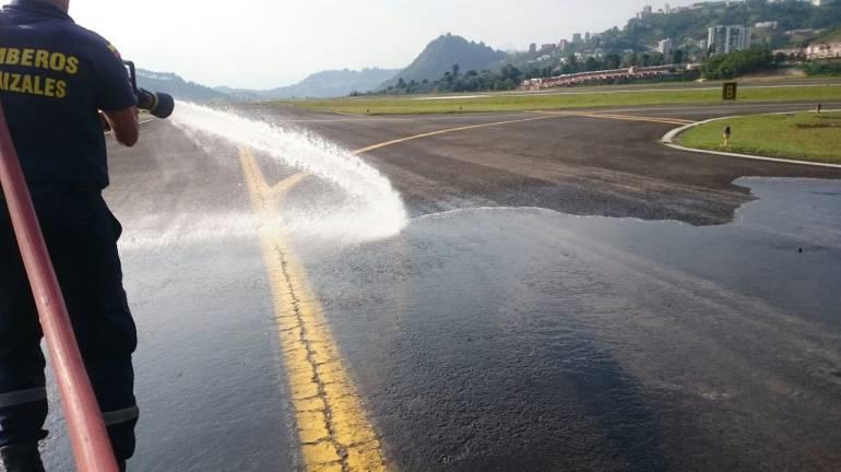 Nevado del Ruiz, Ceniza Volcánica; Manizales; Aeropuerto: Cierres de La Nubia hacen perder conexiones a los viajeros