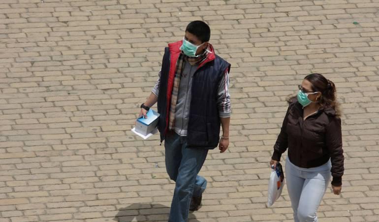 Enfermedades respiratorias Bogotá: Reaparece el virus AH1N1 en Bogotá