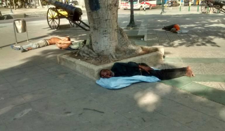 DROGADICCION Calle del Bronx: Alrededor de 2.000 habitantes de la calle invaden el centro de Barranquilla
